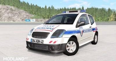 Citroen C2 Police Skins Pack [0.12.0], 1 photo